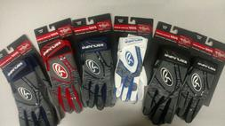 Rawlings 5150 Batting Gloves Navy Blue Adult LRG 5150GBG-N-9