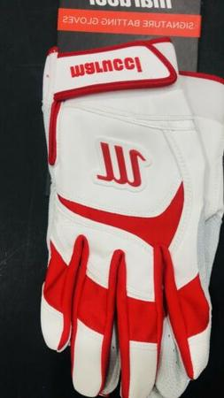 Marucci Adult Batting Gloves Size Large NWT Superior Fit Sig