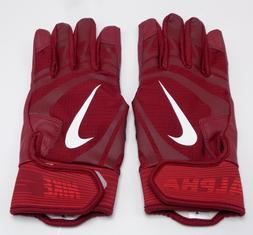 Nike Alpha Huarache Edge Batting Gloves Team Red/White Men's