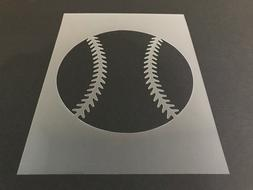 baseball 1 stencil 10mm or 7mm thick