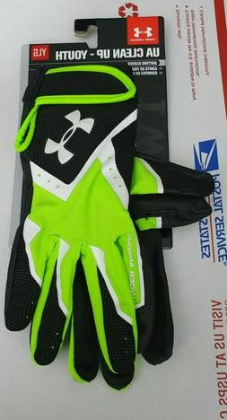 Under Armour  Clean-Up VI YOUTH Batting Gloves 1267427-389 S