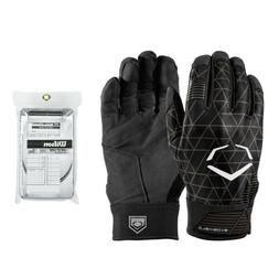 EvoShield Evocharge Batting Gloves  with Wilson Lineup Cards