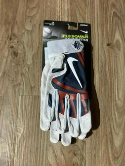 Nike Huarache Elite Batting Gloves PGB649-438 XL Grey Blue R