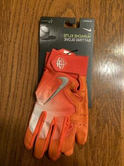 Nike Hurache Elite Batting Gloves Orange/White PGB544 864 Ad