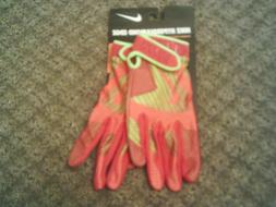 NIKE HYPERDIAMOND EDGE adult Small Batting Gloves, NEW