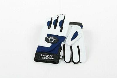 12 PACK LUXURY BATTING GLOVES your choice of color inset