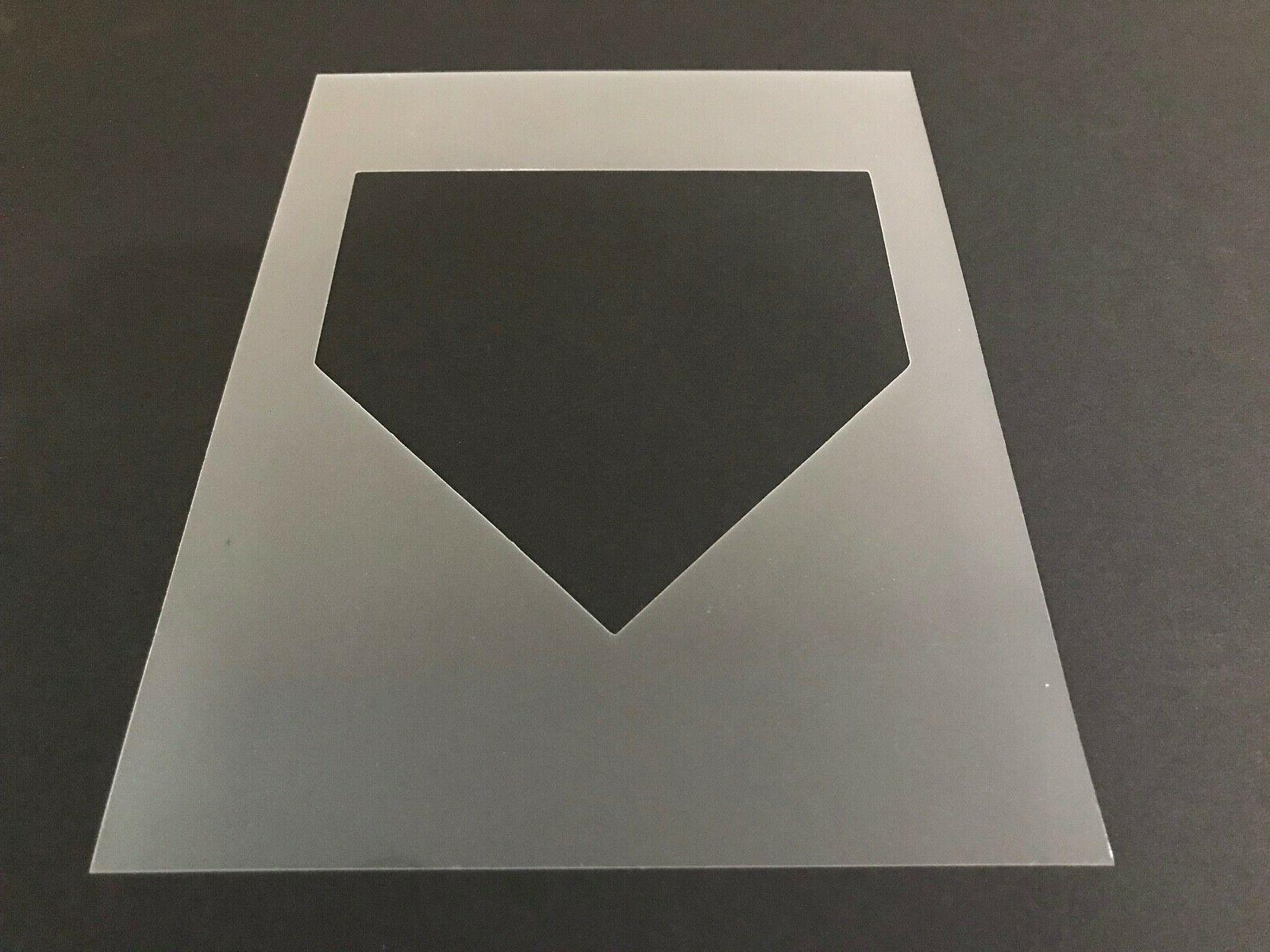 baseball 3 stencil 10mm or 7mm thick
