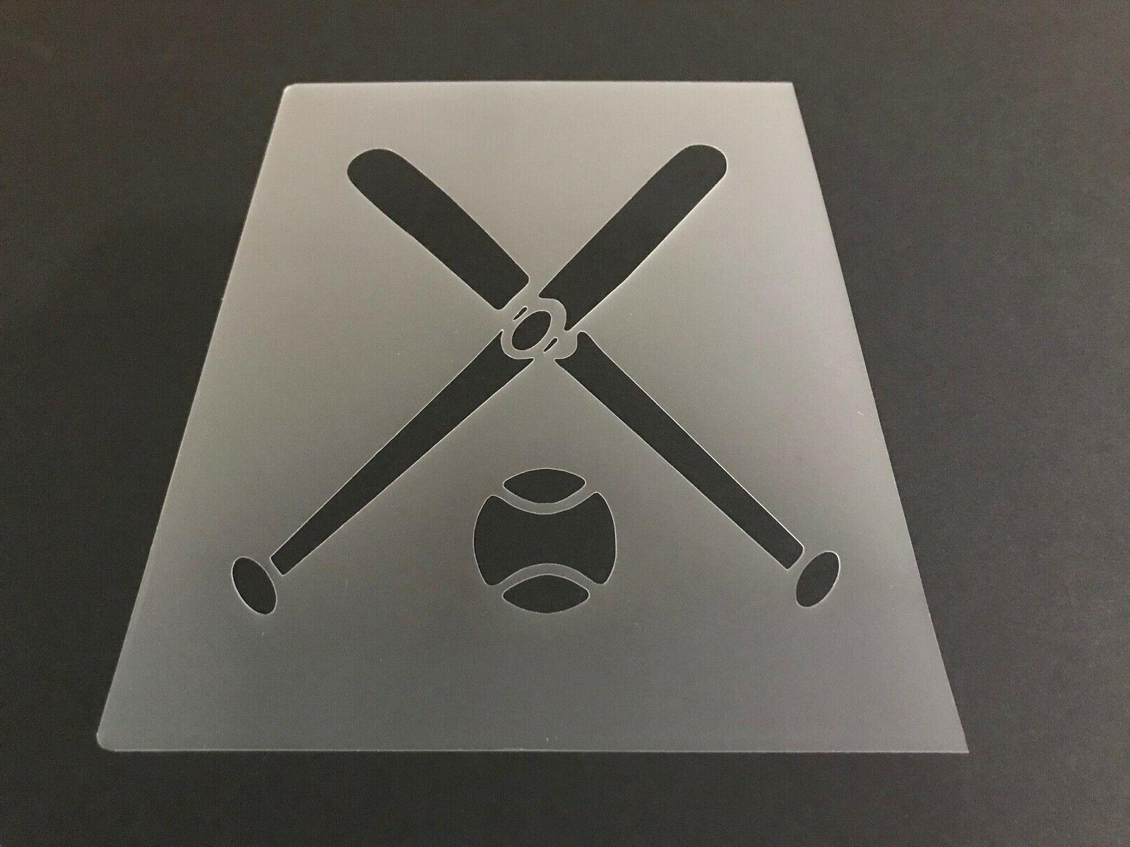 baseball 7 stencil 10mm or 7mm thick