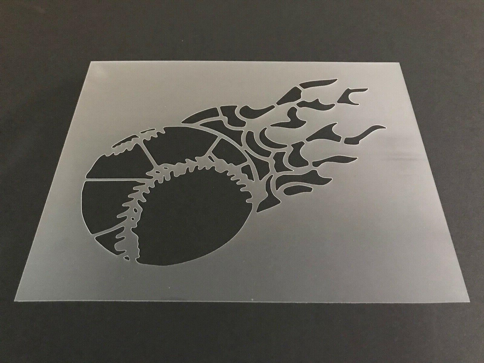 baseball 9 stencil 10mm or 7mm thick