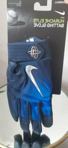 Nike Huarache Elite Batting Gloves Men's Large Game Royal/Co