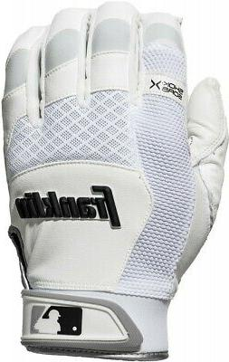 Franklin Mens Shock-Sorb X Batting Gloves
