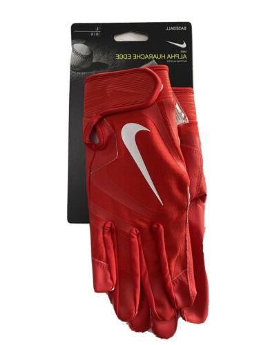 NEW Nike Edge Baseball Batting Gloves Adult L