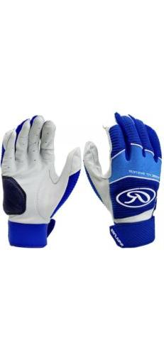new workhorse royal batting gloves size adult