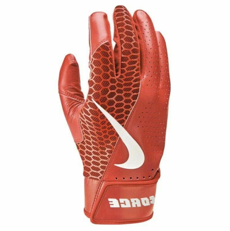 NWT Edge Gloves Adult Red/White S