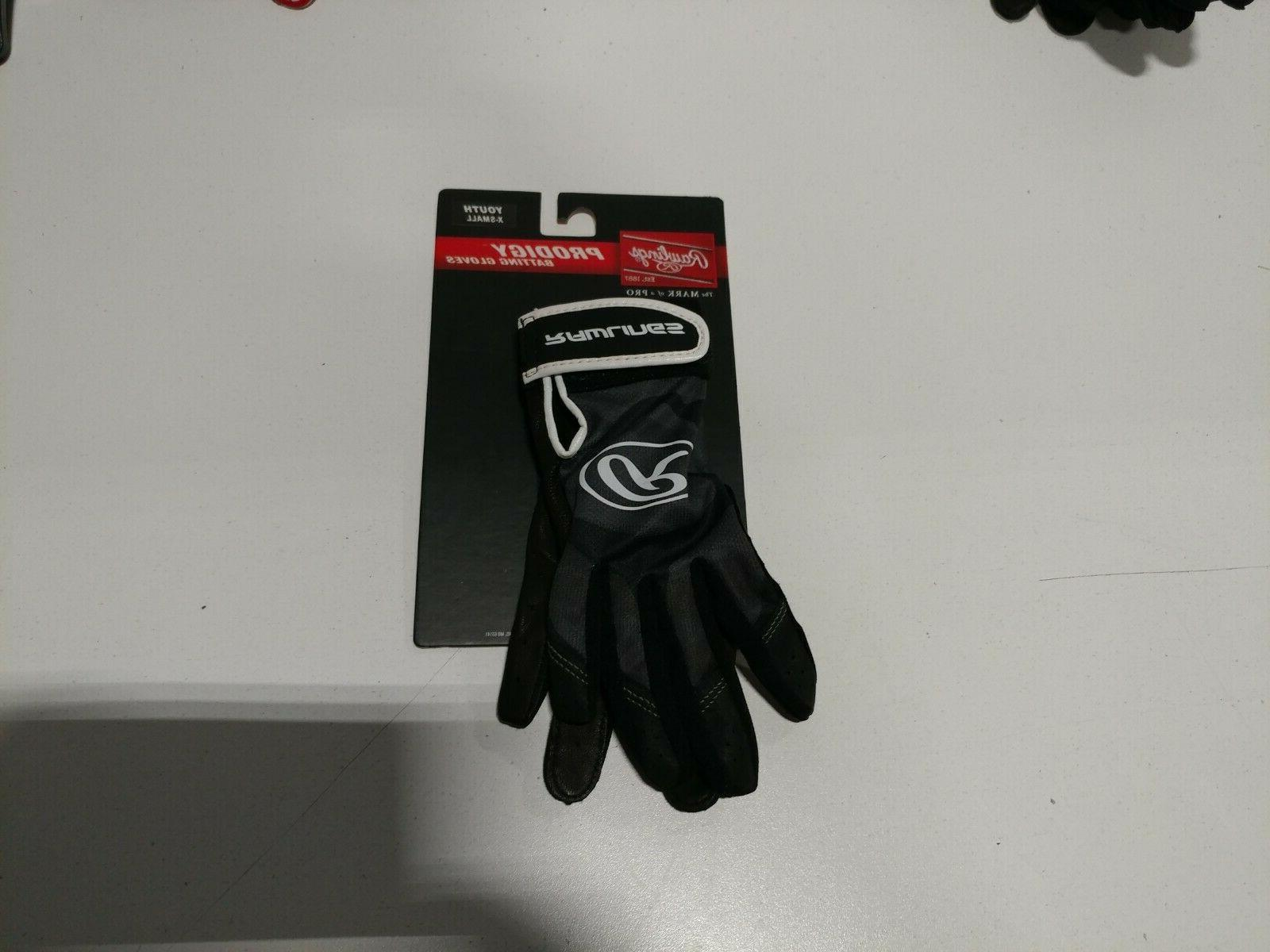 prodigy adult batting gloves youth x small