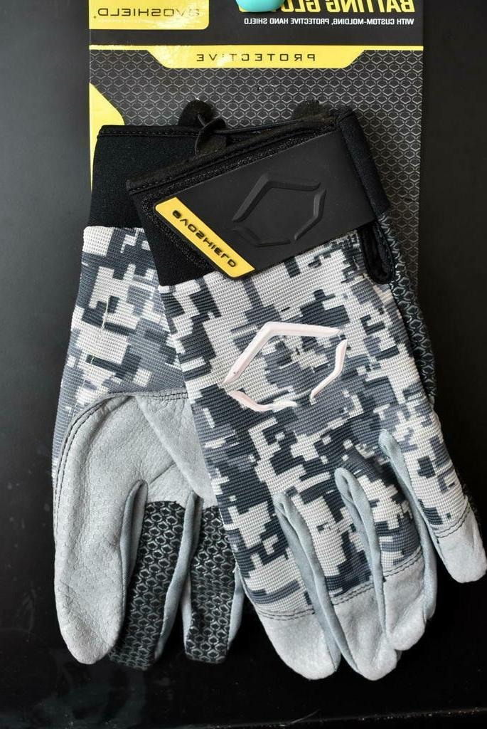 prostyle batting gloves camo adult xl