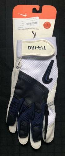 Vintage 2005 Nike Diamond Elite B2 Batting Gloves Men's La