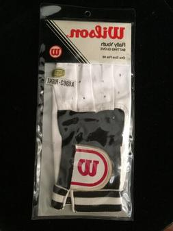 Wilson Leather Rally Youth Right Hand Baseball Batting Glove