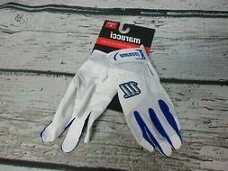 Marucci MBGQST2 Quest Batting Gloves Royal Blue / White YOUT