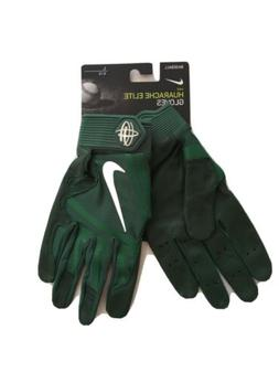 Nike Men's Huarache Elite Baseball Batting Gloves, Green Men