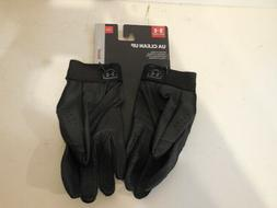 Men Under Armour UA Clean Up Batting Gloves USA - Small Blac