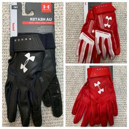 NWT! Youth Under Armour UA Adult Heater Batting Gloves 2018