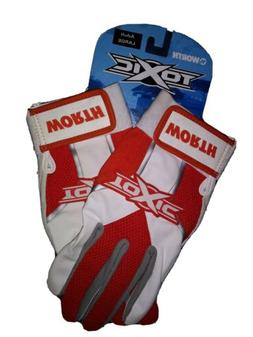 Worth Toxic / Softball / Baseball Batting Gloves / White-Ora