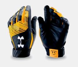 Under Armour UA Clean Up Adult Large Batting Gloves NWT Stre