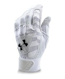 Under Armour Men's UA Yard Batting Gloves Extra Large White