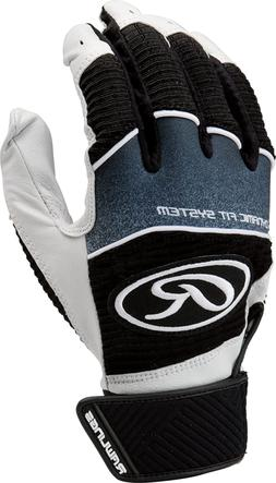 Rawlings Workhorse 950 Series Adult Batting Gloves,Black,Lar