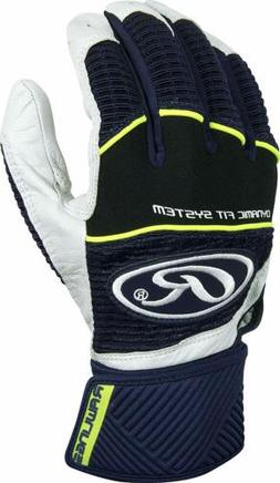 RAWLINGS WORKHORSE COMPRESSION STRAP BATTING GLOVES WORKCSBG