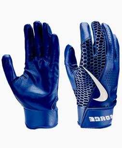 Youth Nike Force Edge Batting Gloves Size Small NWT Blue Dur